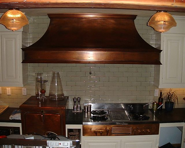 Large Copper Hood Over Antique Copper Oven And Stove Flickr