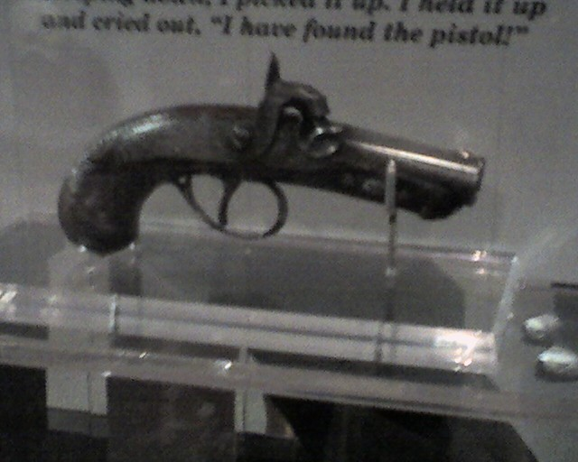 The Gun That Killed Lincoln John Wilkes Booth S Single