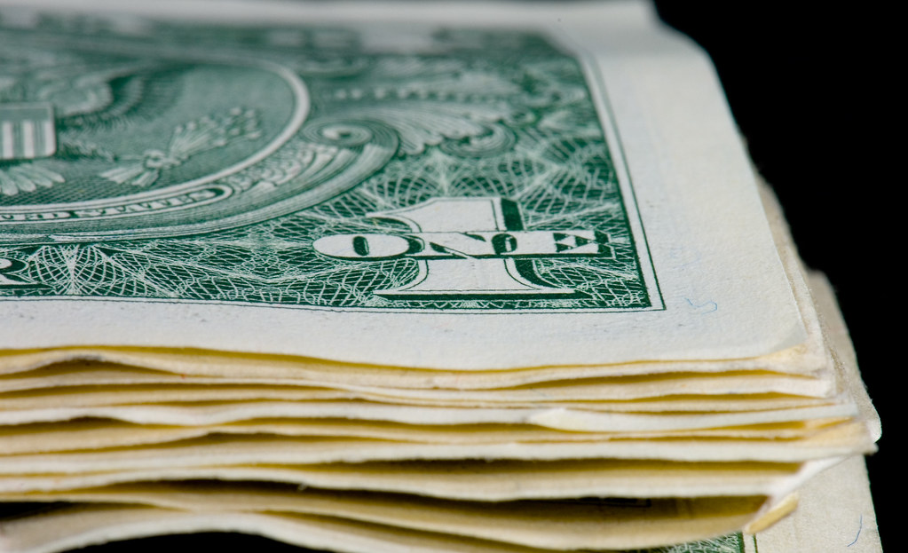 Stack of Greenbacks | Stack of US $1 bills. Taken for the ...