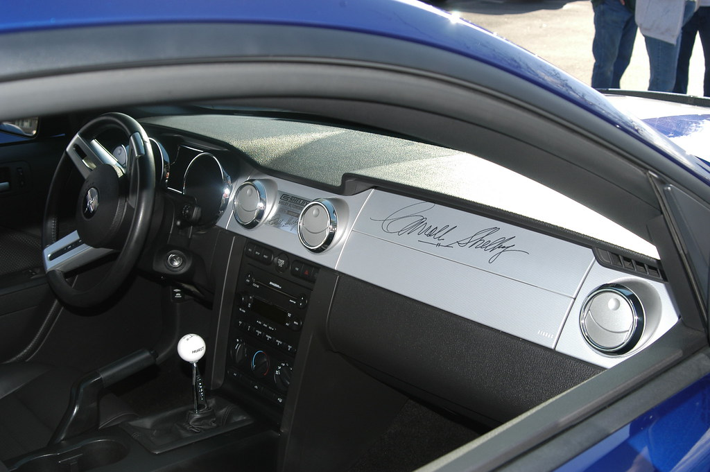 Shelby Signature And Dash Plaque My Interior Shelby
