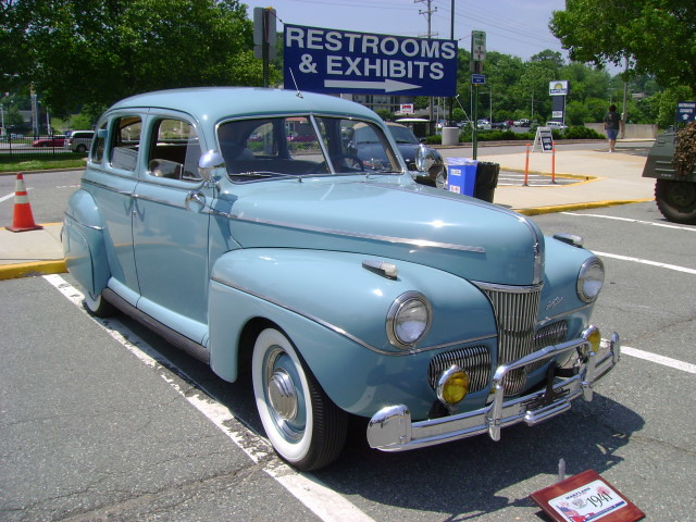1941 Ford Super Deluxe Maryland Motor Vehicle