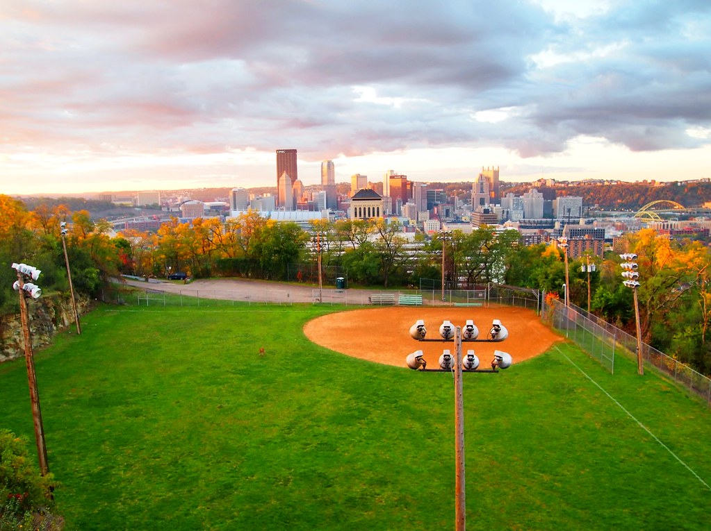 Image result for fineview fields  northside of pittsburgh