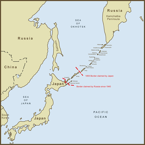 Map Of Disputed Islands Between China And Japan