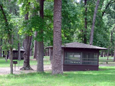 Cabin At Huntsville State Park June 3rd 2007