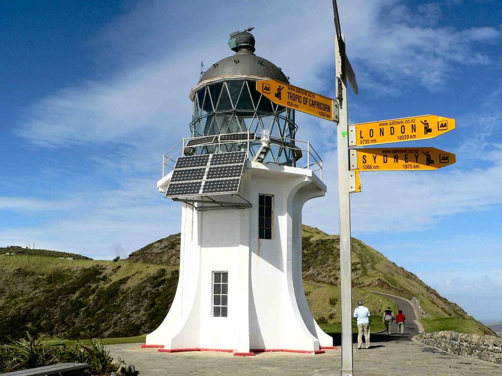 Cape Reinga Far North New Zealand Cape Reinga