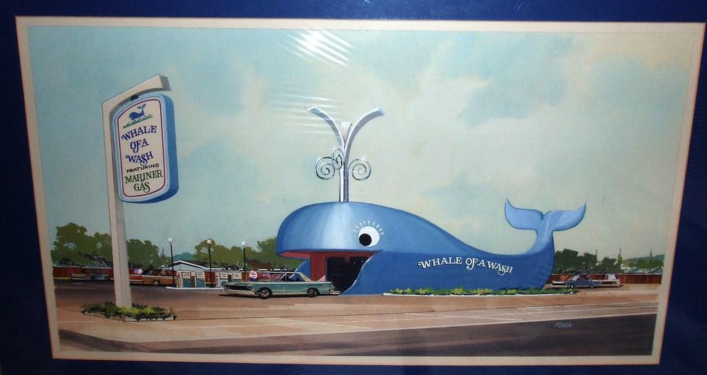 Blue Whale Car Wash