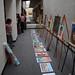 Original art works display by Chicano artist Daniel DeSiga