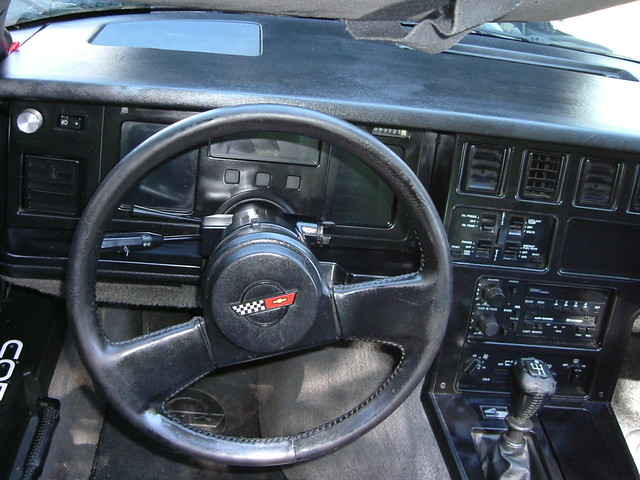 1984 Corvette Interior Brian R Flickr