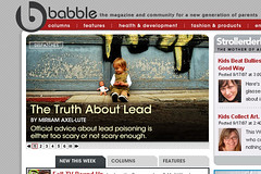 "Nerve Media, Inc. (""Babble"") stole a photo of my daughter without attribution, acknowledgement, or permission 