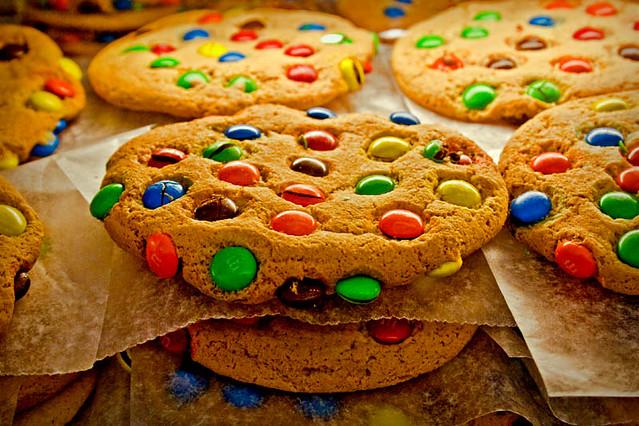 Печенье с эмемдемс рецепт с фото
