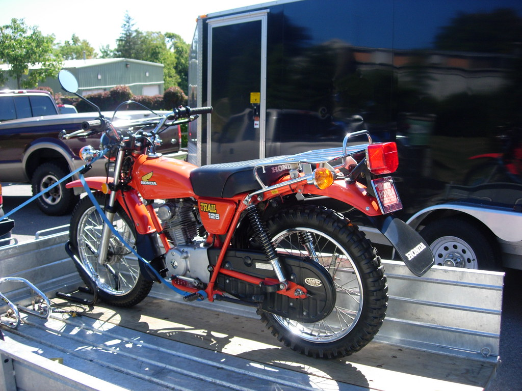 Honda Trail 125 | From the first annual Japanese ...