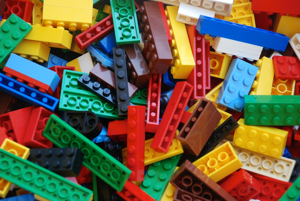 There Were Legos Strewen Across The Living Room Fllor