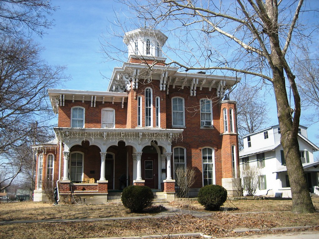 Mount pleasant ia italianate house flickr for Home builders iowa