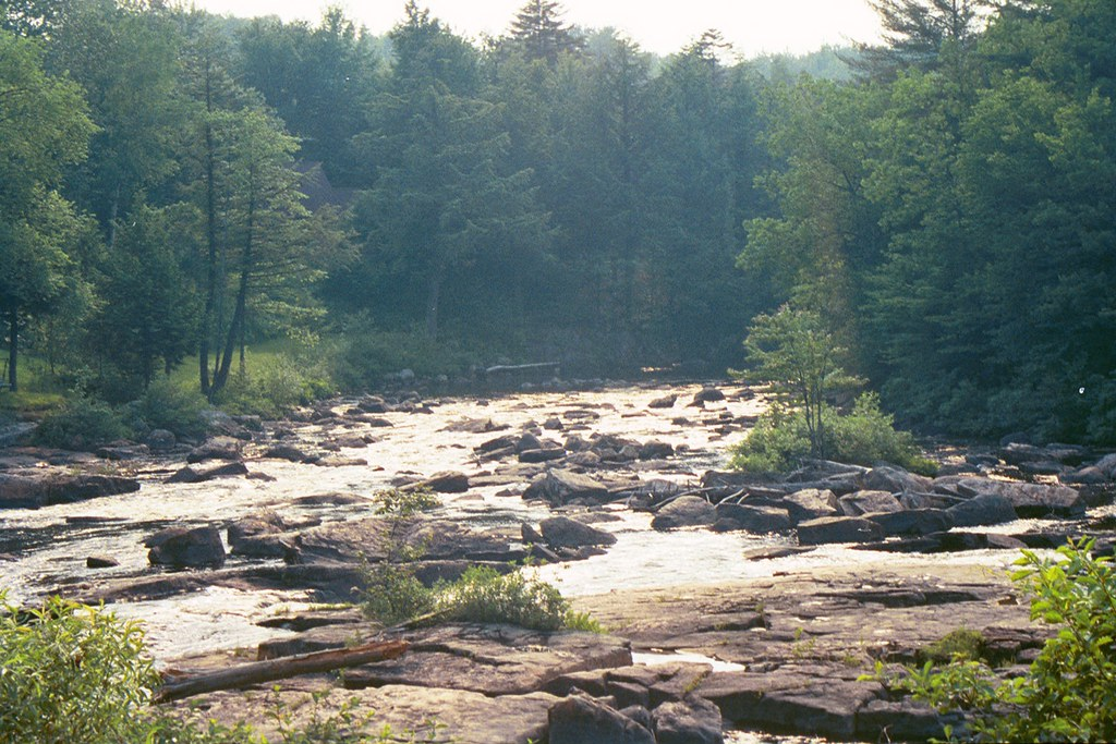 River A Picture Of A Very Rocky River In Utica Ny