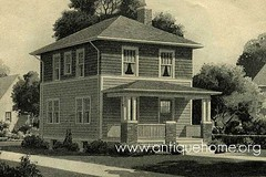 The American Foursquare Built Between 1890 And 1935