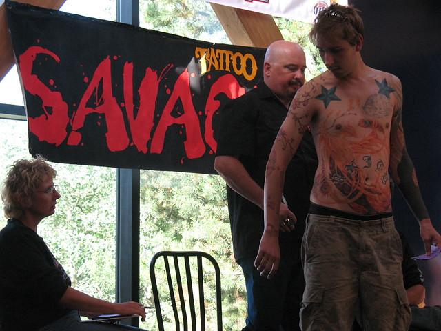 0Rder Savage Tattoo Magazine 2007