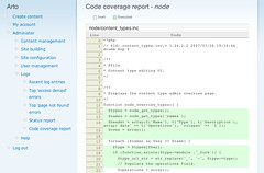 Code coverage analysis for Drupal (sneak peek #3)