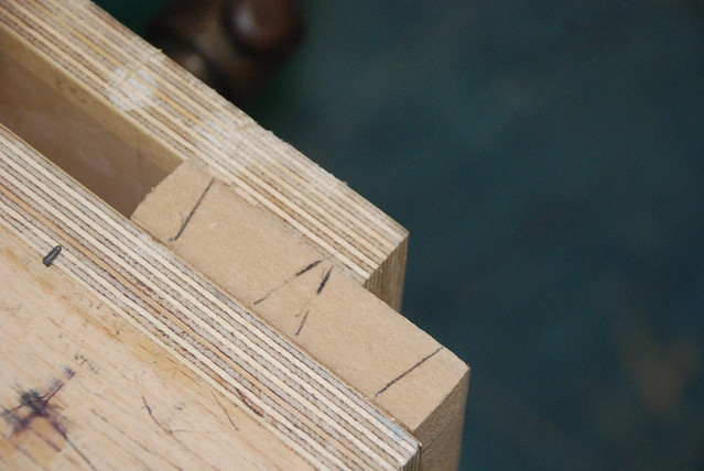 Common woodworking framework and box joints - Flickr - Photo ...