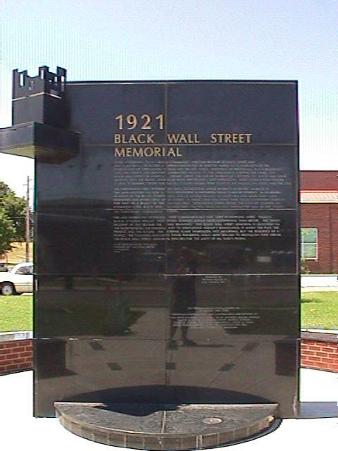 1921 Black Wall Street Memorial | Sony Mavica MVC-FD7 ...