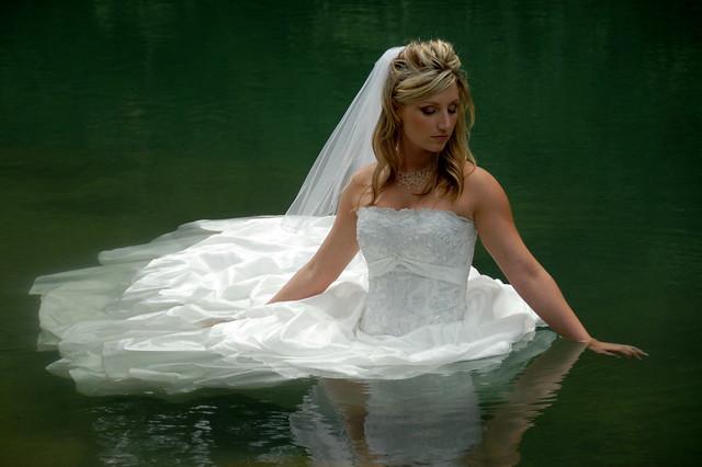 Bride In Water Flickr Explore 11 Over 18000 Views