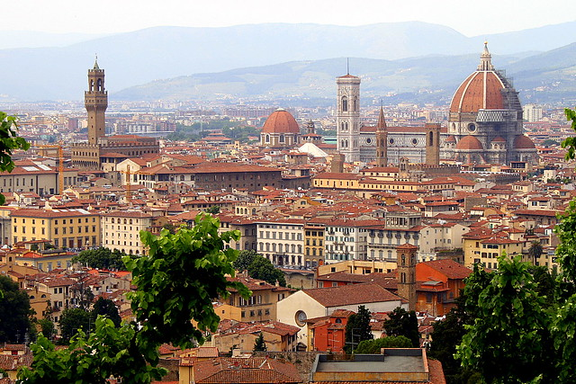 florence skyline nice view of florence you can see il ba flickr. Black Bedroom Furniture Sets. Home Design Ideas