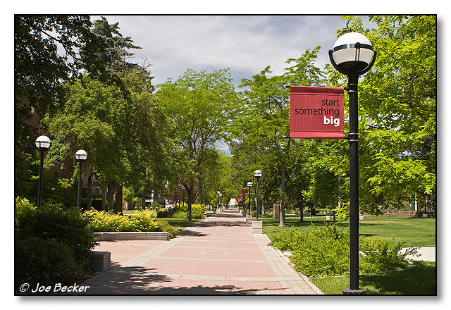 EWU Campus (#07009057) | Walkway on the campus of Eastern ...