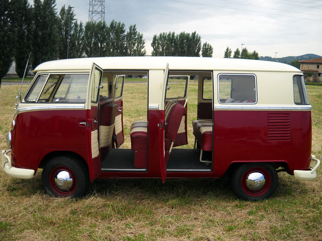 vw t1 kombi bus 6 doors taxi new restoration from. Black Bedroom Furniture Sets. Home Design Ideas