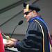 Paul Rivera reading graduates names