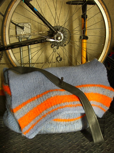 Bike Tube Messenger Bag | by hizknits
