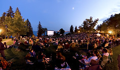 Movies in the park | by MOEVIEW is Aaron Molina