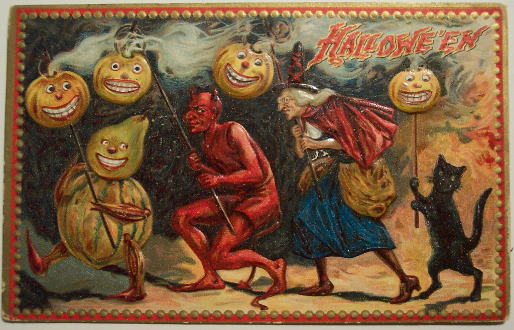Old Fashioned Halloween Pics