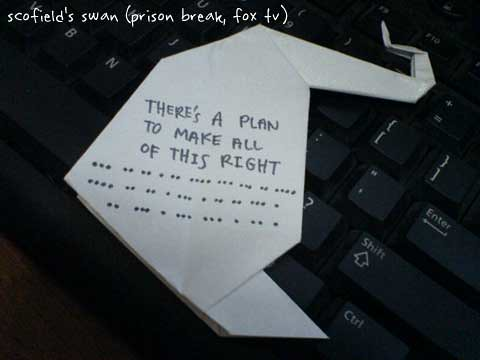 Origami How To Swan
