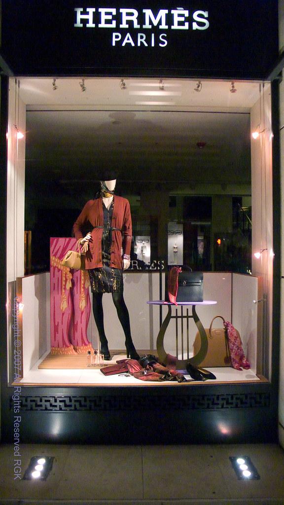 hermes of paris boutique window photo 032 hermes of. Black Bedroom Furniture Sets. Home Design Ideas