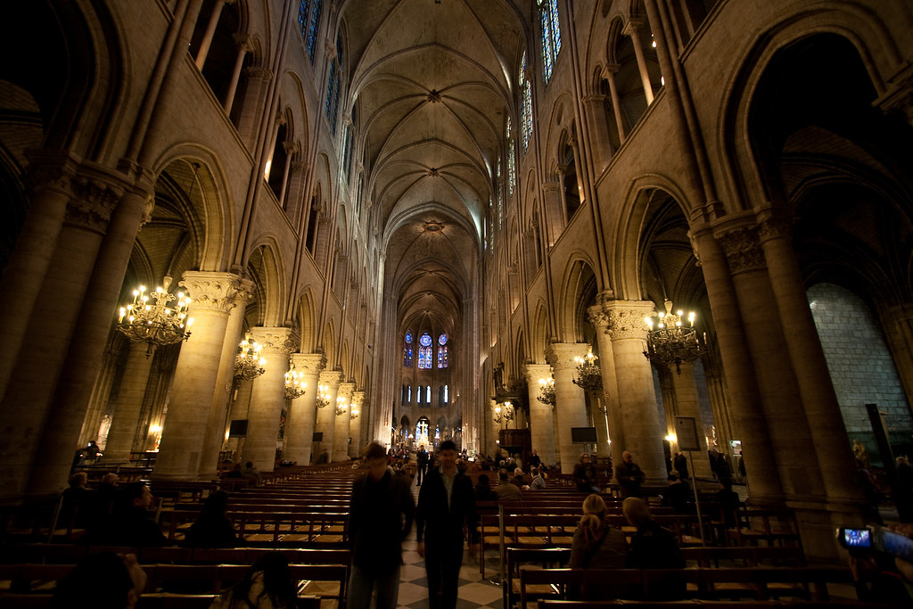 Notre Dame de Paris inside | *vlad* | Flickr