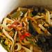 Mina's jjamppong (Mixed-up noodles, meat, seafood, and vegetables soup)