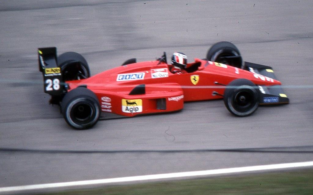 Gerhard Berger info amp statistics  F1Fansitecom