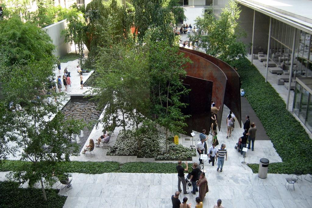 Nyc Moma The Abby Aldrich Rockefeller Sculpture Garden