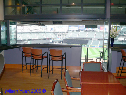 Safeco Field Mariner Suite | View from the Suite $4000 per ...
