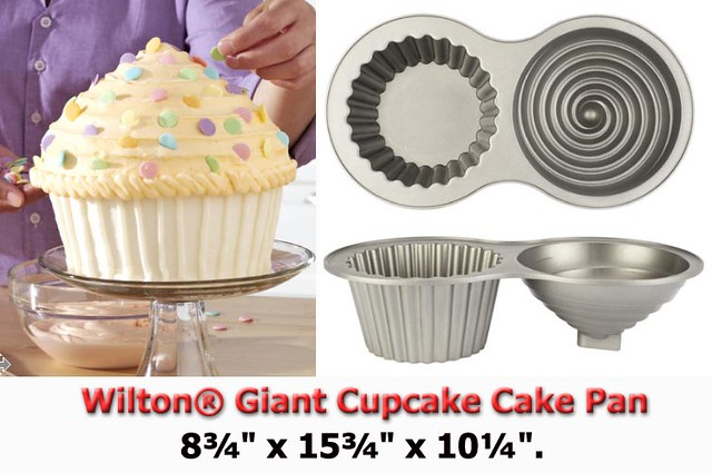 Wilton Giant Cupcake Cake Pan This Is Wilton S New