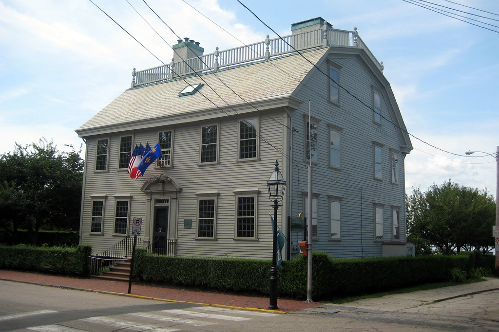 North American Moving >> RI - Newport: Hunter House | Hunter House, at 54 ...