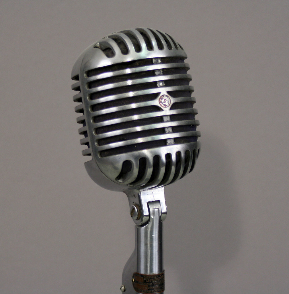Old Fashioned Microphones For Sale