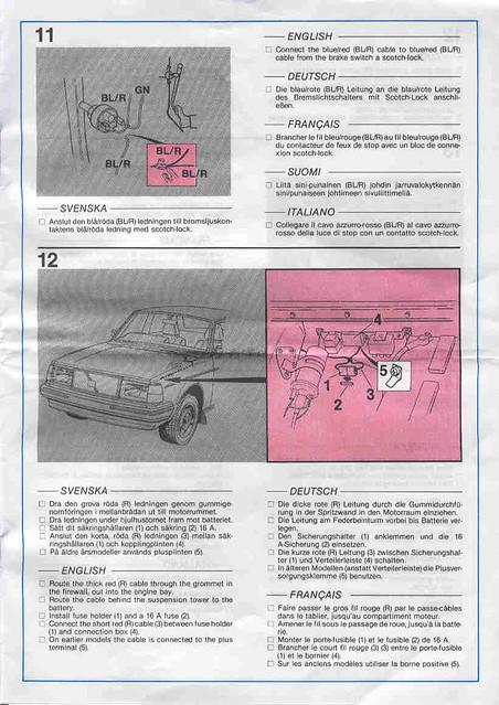 volvo 240 trailer hitch wiring instructions page 10 flickr rh flickr com