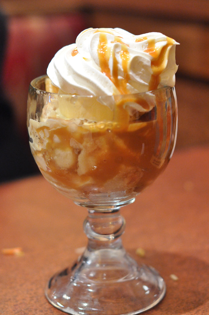 Caramel Apple Sundae Recipe — Dishmaps