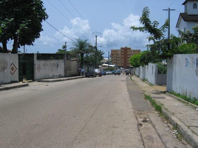 Ville Gabon Bord Mer