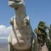 Cabazon Dinosaurs.  The t-rex