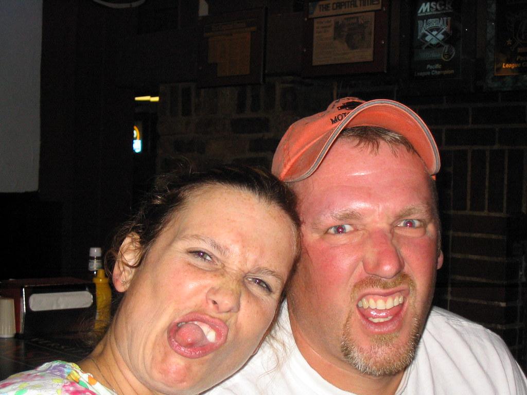elaine and donkey ugly face game.   Kate   Flickr  elaine and donk...