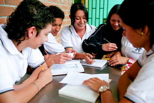 Students in a technical education program | by World Bank Photo Collection