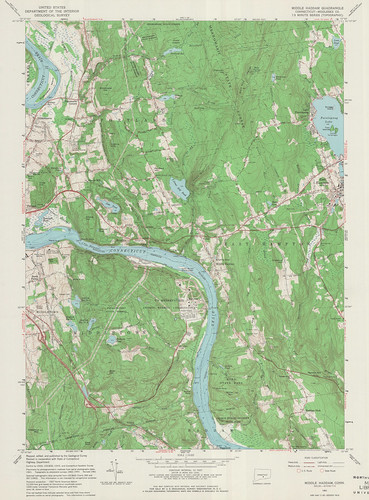 Middle Haddam Quadrangle 1961 - USGS Topographic Map 1:24,000 | by uconnlibrariesmagic