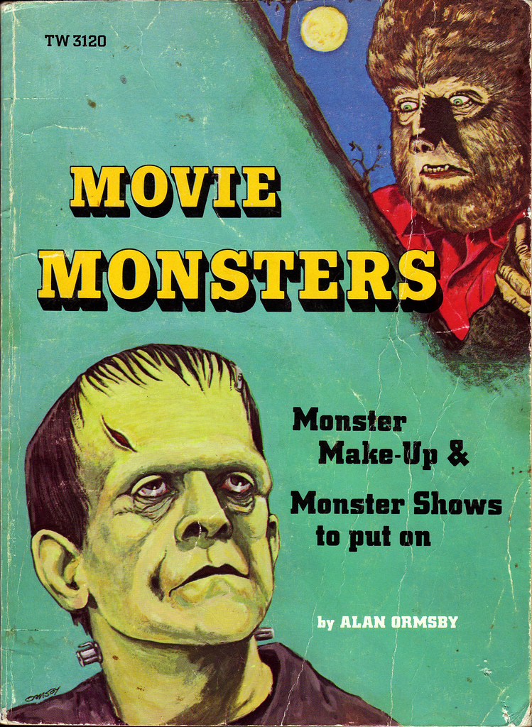 Children S Book Covers Alan Powers : Movie monsters by alan ormsby scholastic book cover
