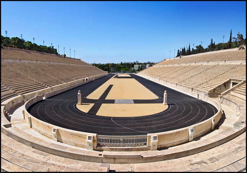 Ancient Stadium The Ancient Olympic Stadium Where The